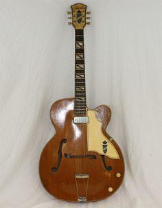 Silvertone Vintage Aristocrat Archtop Jazz Guitar 1950s