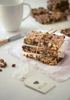 Versatile and healthy homemade granola bars, packed with your favorite…