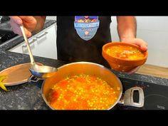 Ciorba de vacuta taraneasca - YouTube Chana Masala, Supe, Curry, Cooking, Ethnic Recipes, Youtube, Mad, Mariana, Kitchen