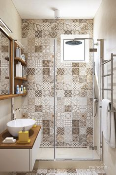Love the tile patterns!
