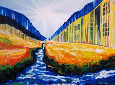 Paintings by Amy Shackleton Another World, Great Artists, Amy, Canvas, Peru, Inspiration, Toronto, Cities, Art Ideas