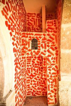 by Shoof - for the Djerbahood project - Djerba, Tunisia - July 2014