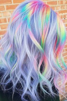 Hair Color 2018 Want to try ombre hair but not sure what look? We have put together a list of t Hair Color 2018 Want to try ombre hair but not sure what look? We have put together a list of t Vibrant Hair Colors, Hair Dye Colors, Ombre Hair Color, Cool Hair Color, Rainbow Hair Colors, Ombre Hair Rainbow, Short Rainbow Hair, Unicorn Hair Color, Unique Hair Color