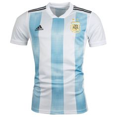 84eb60f7032 Argentina World Cup Home Soccer Jersey 2018 This is the Argentina 2018  World Cup Home Football
