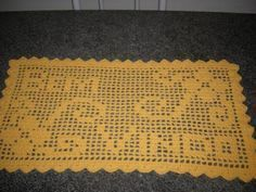 #BaiduImage tapete de croche em barbante retangular modelo antigo_Pesquisa do Baidu Crochet Squares, Crochet Doilies, Doily Patterns, Crochet Patterns, Filet Crochet, Crochet Top, Stylish Men, Diy And Crafts, Sewing