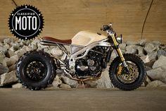 Classified Moto Triumph Big Wheel Monster named Frank