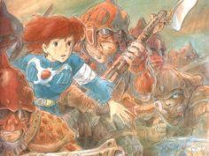 Nausicaä of the Valley of the Wind manga 風の谷のナウシカ