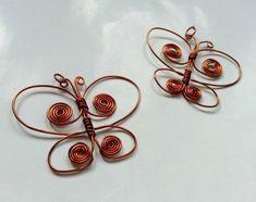 Wire Butterfly DIY Pendant