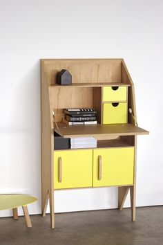 ORIGAMI Secretary #desk by Ethnicraft