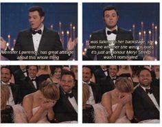 LOL! I just love you, Jennifer Lawrence! hahahaha