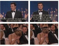 LOL! I just love you, Jennifer Lawrence! hahahaha.
