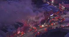 Incêndio Em Prédio De Nova Iorque Faz Pelo Menos 12 Feridos