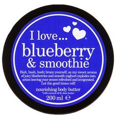 Beurre corporel Blueberry