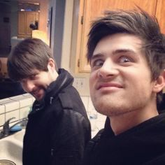 Creepy Anthony and Ian selfie | smosh