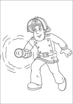 13 best fireman sam coloring pages images | fireman sam, coloring pages, coloring books