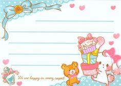 kawaii animal rabbit cake mini Memo Pad - Memo Pads - Stationery - kawaii shop modeS4u