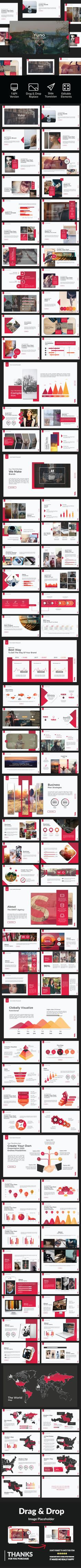 Yuno - Keynote - Business PowerPoint Templates