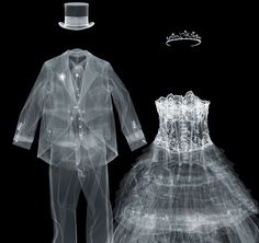 X-ray of Kylie's knickers and other works by Nick Veasey go on show.