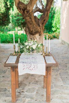 Event Planning + Design: White Ribbon Boutique Events - http://www.stylemepretty.com/portfolio/white-ribbon-boutique-events Venue: Agreco - http://www.stylemepretty.com/portfolio/agreco Photography: Anna Roussos - Photographer - annaroussos.com   Read More on SMP: http://www.stylemepretty.com/destination-weddings/2016/02/01/rustic-elegant-crete-destination-wedding-2/