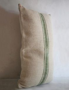 vintage linen and hemp recycled grainsack