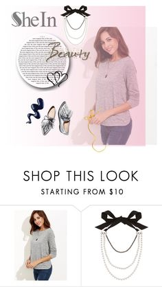 """""""SheIn"""" by makeup-queen-anna ❤ liked on Polyvore featuring Lanvin and Loeffler Randall"""