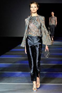 Armani, Milan Fashion Week 2012