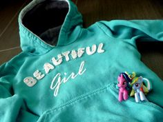 Fashion girl look with Little Pony...