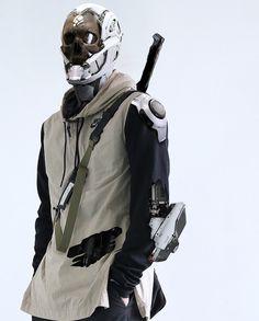 46 ideas for fashion design concept sci fi Cyberpunk Mode, Cyberpunk Clothes, Cyberpunk Fashion, Samurai, Character Concept, Character Art, Character Reference, Robot Design, Sci Fi Characters