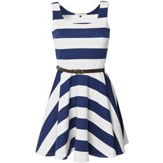 Striped Nautical Dress