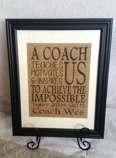 Personalized gift for Coach A coach teaches by Allaboutthenames