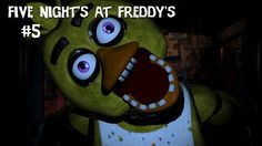 Five Nights At Freddy's #5 - Chic-a-boo (4. Nacht) - Let's Play Five Nights At Freddy's