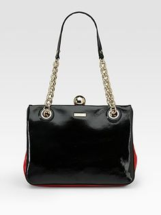 Kate Spade New York Darcy Frame Patent Leather Shoulder Bag
