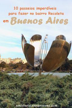Conheça as atrações do bairro mais chique de Buenos Aires, o Recoleta.