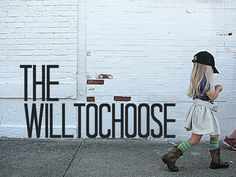 Buy this shirt to support a good cause! Find out more at   www.thewilltochoose.com