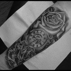 Badass piece by @pg_tattoo #tattoos #tattooart #tattoolife #rose #rosetattoos…