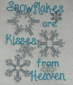 Snowflakes, Snow Flakes