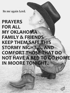 .I don't have any friends or family there, but we are all part of God's family, and we need to pray for God's strength and love to be shown ...