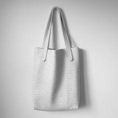 handmade dots simple tote