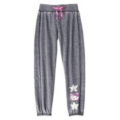 Hello Kitty Girls' Sweatpant - Grey