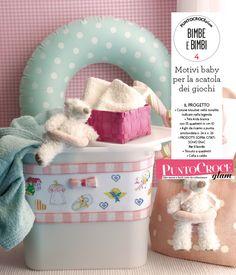 Sezione bimbi di Punto Croce Glam n.3 - tante idee e spunti per il guardaroba e accessori dei vostri cuccioli!