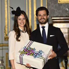 Carl Philip and Sofia: Marriage Banns and Reception  17 MAY  Banns for their marriage of Prince  Carl Philip  and   Sofia Hellqvist were published this morning in the Royal Chapel of the Royal Palace in Stockholm. After the service, guests attended a reception at the Royal Palace.
