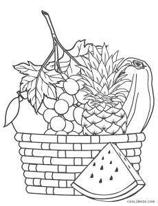 Free Printable Fruit Coloring Pages For Kids Cool2bkids Fruit Coloring Pages Coloring Pages Preschool Coloring Pages