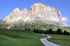 Magic Mountain - The incredible Sassolungo in the Dolomites, Canazei, Trentino-Alto Adige, Italy