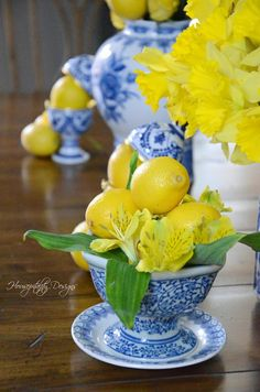 Citrus and Flowers – Monday Morning Blooms
