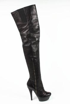 Barbara Bui ladies high boot 5511 BLACK