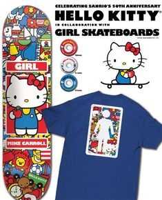 Hello Kitty Skateboards