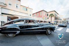Parade dans la Presqu'île des voitures du Concours d'élégance en Automobile 2015 à Saint-Jean-Cap-Légendes édition 2015. #SJCFLegendes