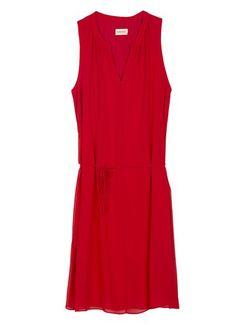 Vestido rojo de Naf Naf para comuniones y otros eventos #Primavera