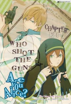 March Hare, Alice - who shot the guns? - Are you Alice?