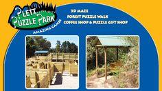 Plett Puzzle Park  Plettenberg Bay, Dec2016 Jan2017 3d Maze, Coffee Shop, Attraction, Puzzle, Sea, Park, Coffee Shops, Coffeehouse, Puzzles